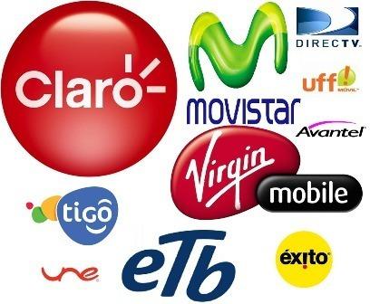 recargas o paquetes todos los operadores móviles del país
