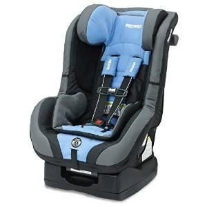 recaro 2015 asiento proride coche convertible, azul ópalo