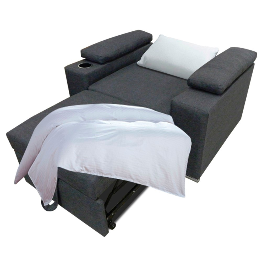 Reccamara sillon cama sofa cama mobydec muebles base for Sofa cama o sillon cama