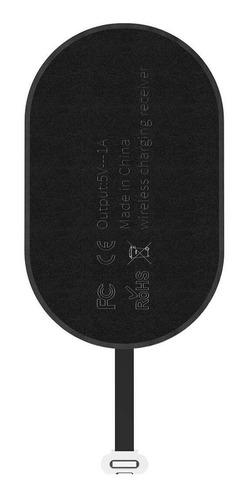 receiver adaptador baseus carregador sem fio micro usb