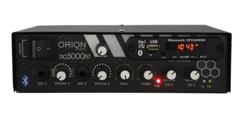 receiver amplificador  300w  som ambiente  rc5000 bluetooth
