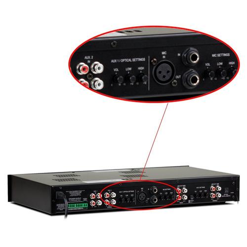 receiver amplificador frahm slim 4500 480w rms bluetooth