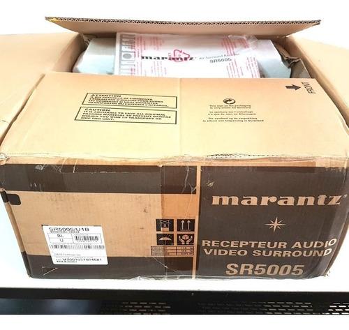 receiver av marantz sr5005 novo na embalagem com nota fiscal