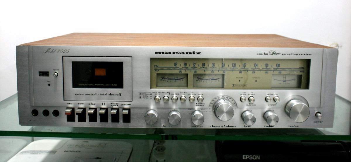 Receiver Com Tape Deck Marantz 4025