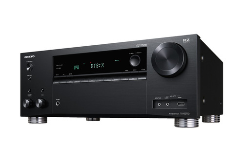 receiver de cine atmos wifi bluetooth onkyo tx-rz710 negro