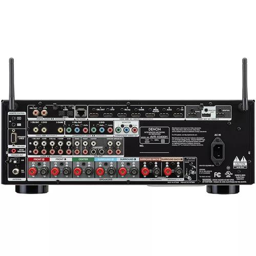 receiver denon avr-x3400h 7.2 wifi bluetooth 4k dolby atmos