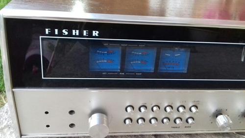 receiver fisher no sansui