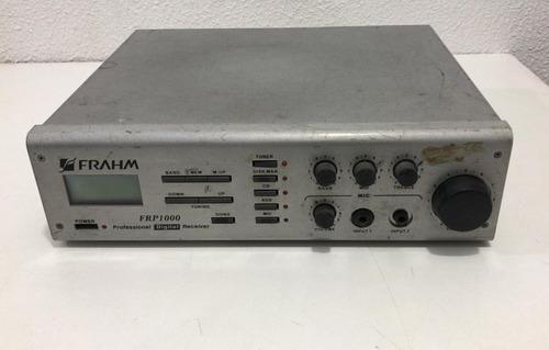 receiver frahm frp1000  *no estado, ler descrição*