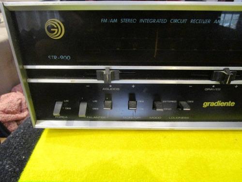 receiver gradiente antigo str 900 fotos novas