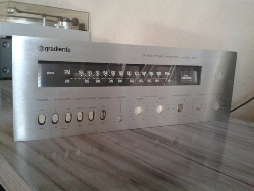 receiver gradiente model 900 so painel frontal