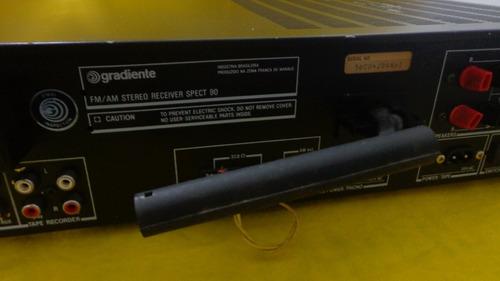 receiver gradiente spect 90 - funcionando