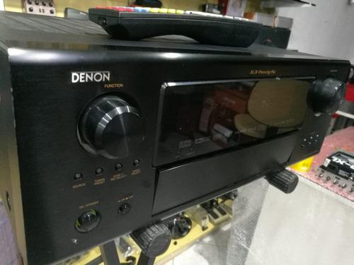 receiver home theater denon avr 987 7.1 hdmi perfeito