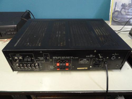 receiver jvc rx-308bk -  potência, beleza, qualidade japan