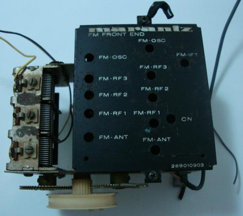 receiver marantz 4400 - bloco de sintonia