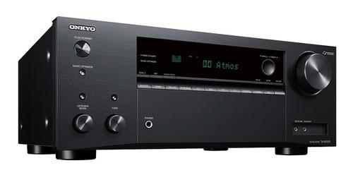 receiver onkyo tx-nr595 7.2 canais wi-fi garantia 1 ano nfe
