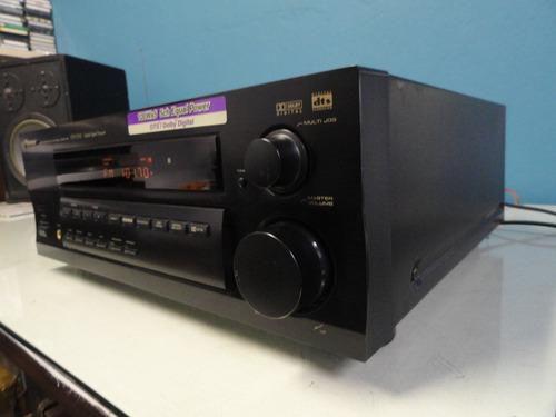 receiver pioneer vsx-d510-  potência, beleza, qualidade
