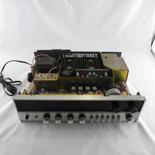 receiver sansui 1000x 1970-73 28w por canal - c; detalhe