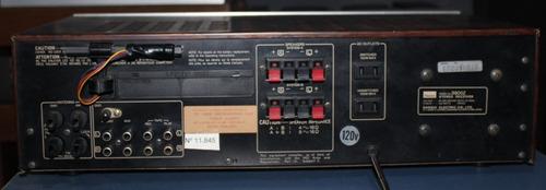 receiver sansui 3900z + tape deck sansui d-150m único dono!!