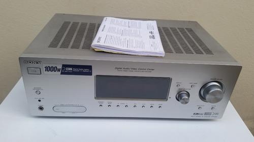 receiver sony k880p 1000w para caixas de som home theater