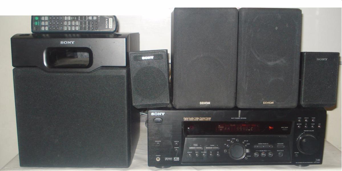 Receiver Sony Str K502p Surround Sound System R 1 500