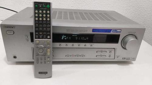 receiver sony str-k750p bivolt com controle *** descrição***