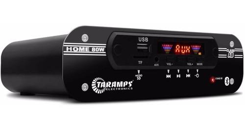 receiver taramps home 80w rms 4 ohms 4 canais bar