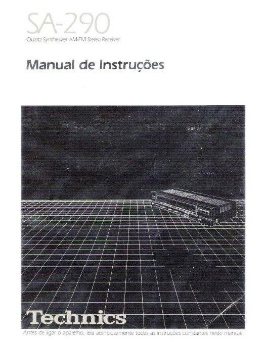 Receiver Technics Sa-290 Manual De Instruções Em Pdf