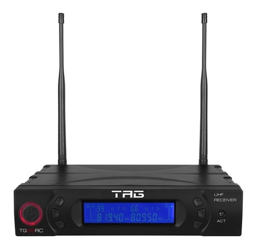 receiver uhf tg-88rc + transmissor tg-88tr/tg-88bp tagima