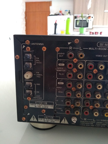 receiver vsx d2s pionner