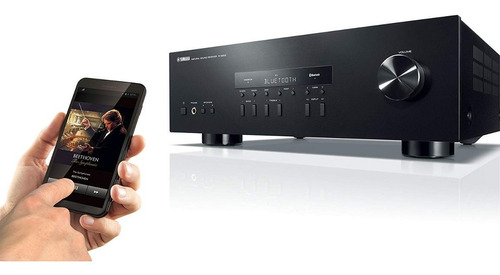 receiver yamaha r-s202 stereo 180w bi-volt/bluetooth