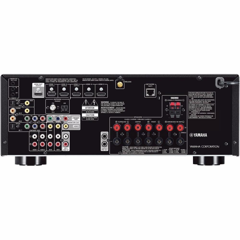 Receiver yamaha rx v679 7 2 canais bluetooth 4k rx v679 for Yamaha tv receiver