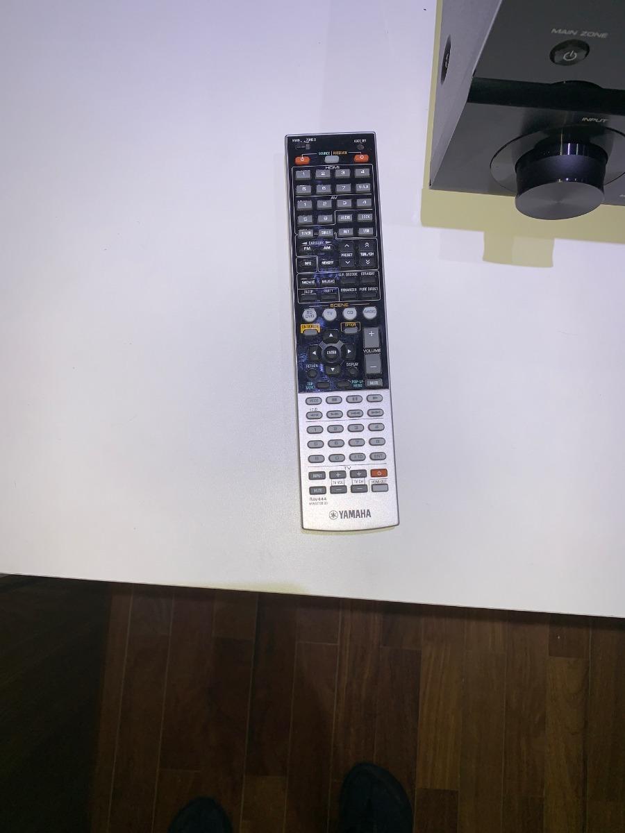 Receiver Yamaha Rx-v871 7 2ch 100w/canal Bi-amp Zone2