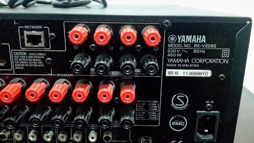 receiver/amplificador yamaha modelo rx-v2065