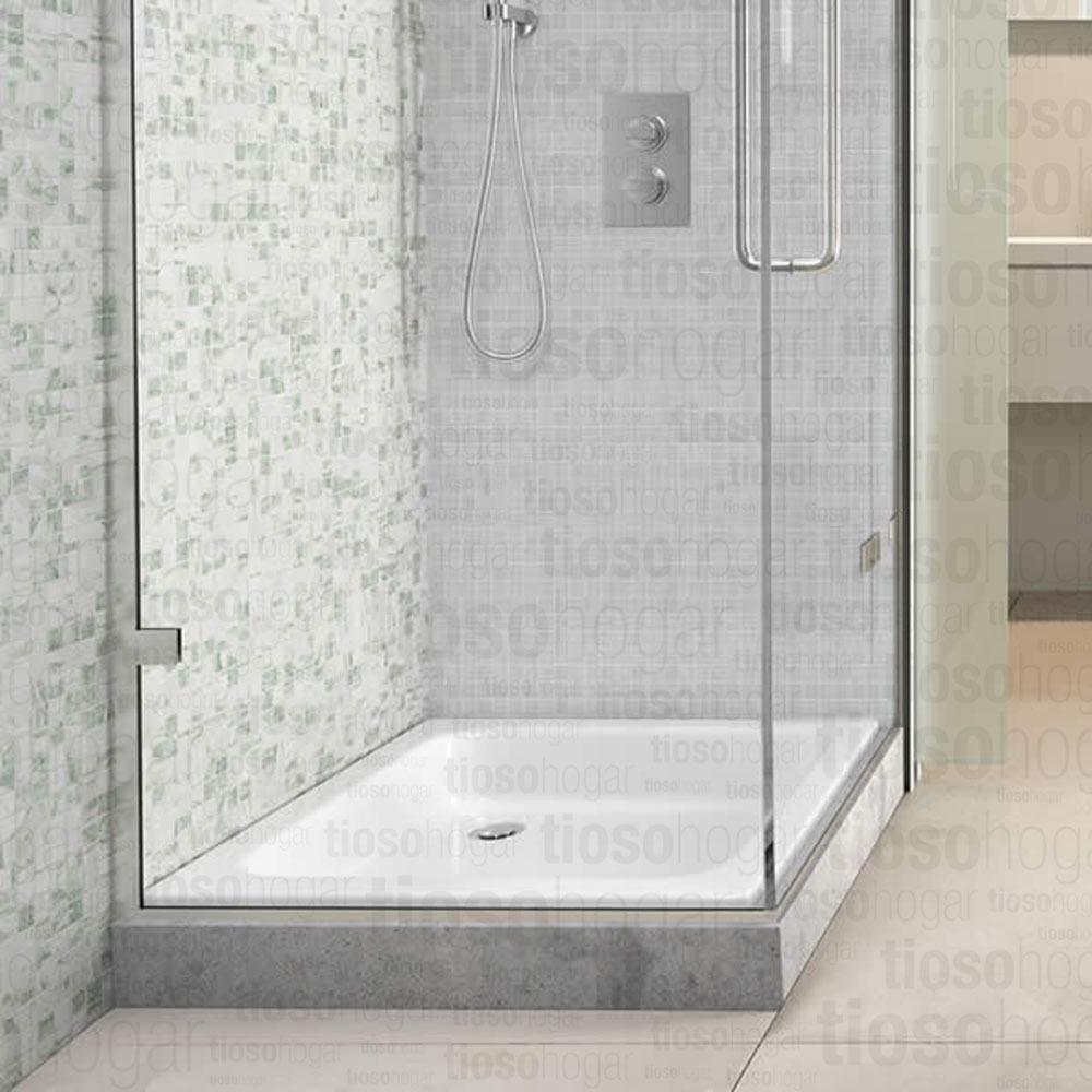 Baño Ducha | Receptaculo 70x70 Antideslizante Piso Abs Ducha Bano Box 2 155