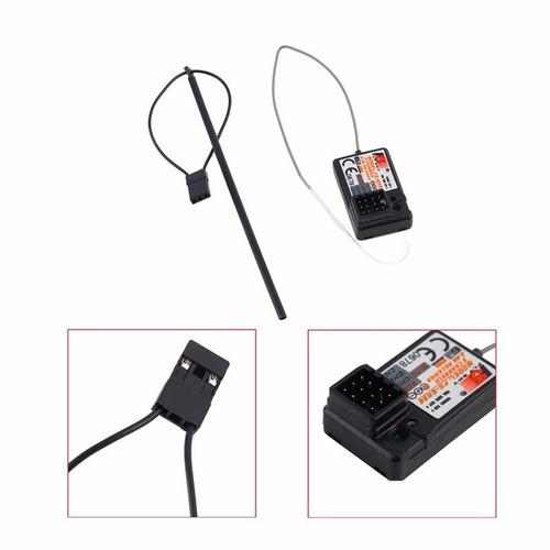 receptor 3 canales para radio turnigy y frsky