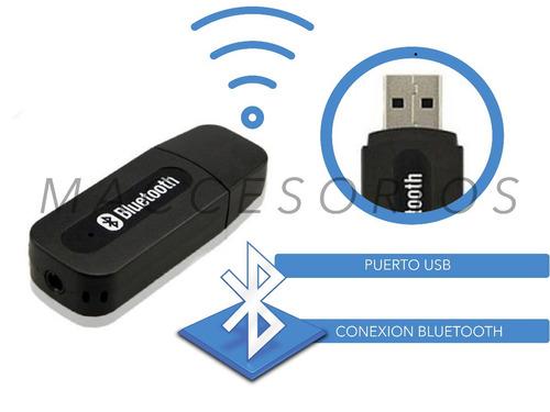 receptor adaptador bluetooth audio wireless con plug 3.5mm