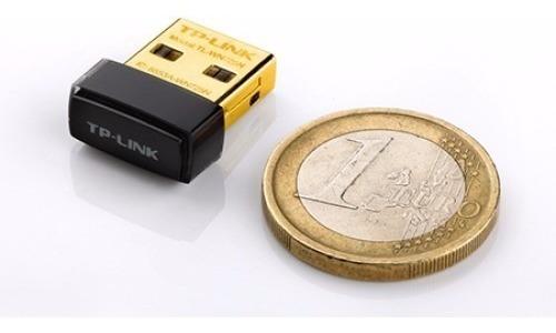 receptor adaptador inalámbrico wifi usb tp-link 725 n