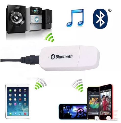 receptor adaptador usb bluetooth inalambrico cable gratis.
