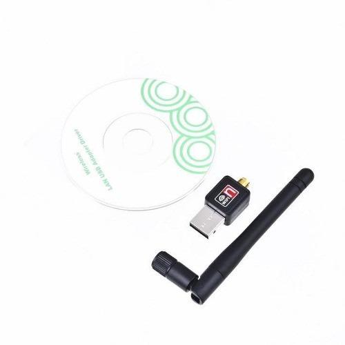 receptor adaptador usb wifi 150 mbps con antena desmontable