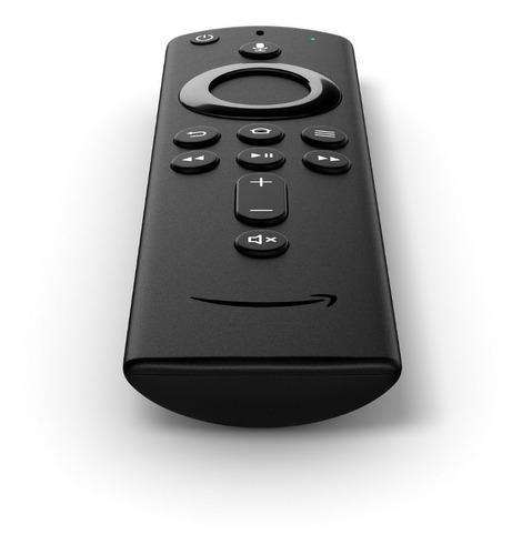 receptor amazon fire tv 4k com alexa - americano, lacrado