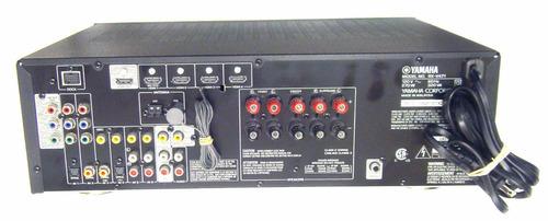 receptor amplificador teatro en casa yamaha 5.1 canales
