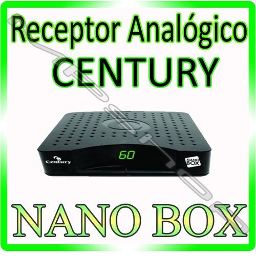 receptor analógio century nanobox parabolica apenas uf sp