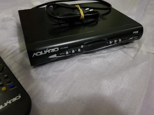 receptor aquário dtv-8000 - tv digital