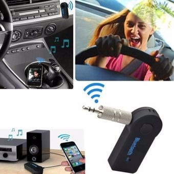 receptor audio bluetooth 3.5m recargable tablet celular auto
