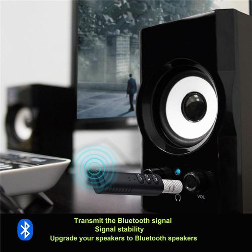 receptor audio bluetooth 4.0 adaptador som carro chamada p2