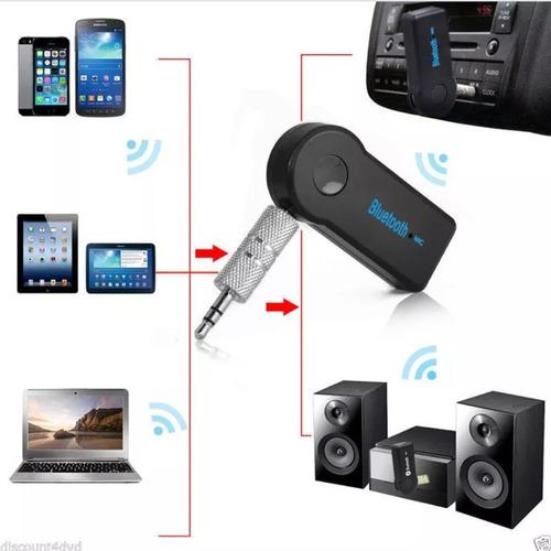 receptor audio bluetooth auxiliar para reproductor de carro