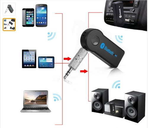 receptor audio manos libres bluetooth 2 en1 3.5 transmisor