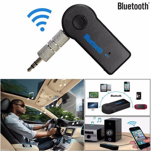 receptor audio sonido bluetooth aux 3.5 inalambrico recargab