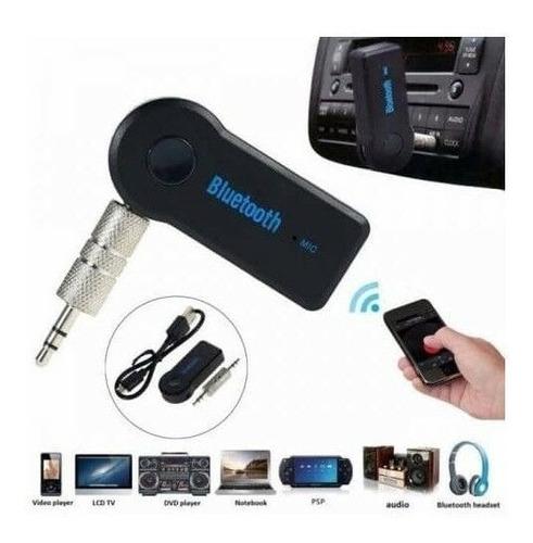 receptor - auxiliar audio bluetooth reproductor carro tienda