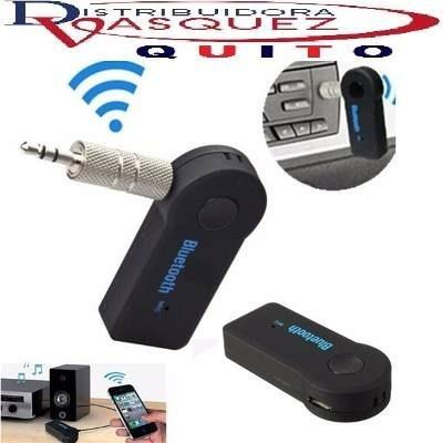 receptor auxiliar bluethoo de audio para carros recargable
